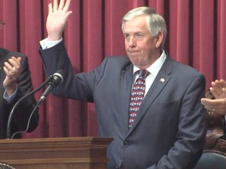 New Gov. Parson: 'Time for a fresh start' in MO