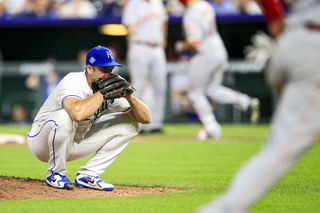 Slammed! Royals fall to Reds thanks to Granny