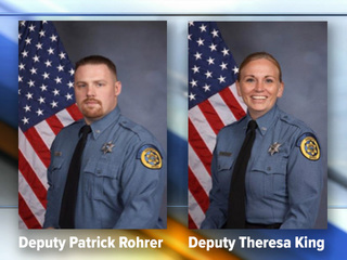 Eyewitness describes Friday murder of 2 deputies