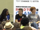 Parkland students talk gun laws with local teens