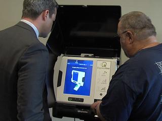 JoCo gets new voting machines ahead of primary