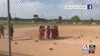 KC youth softball team celebrates national title