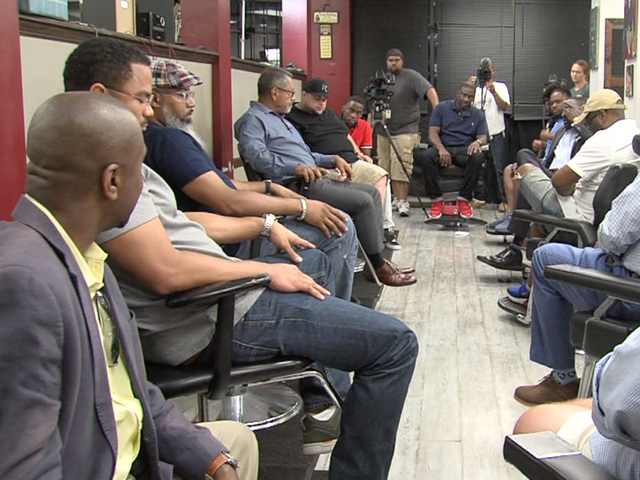 Barbershop talk: Discussion of crime, race, more