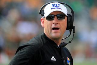 KU fires football coach David Beaty