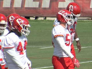 Chiefs head to St. Joe for training camp
