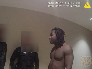 Body cam video released in Kareem Hunt incident
