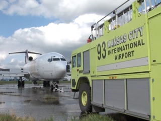 How KCI aircraft rescue, firefighters prepare