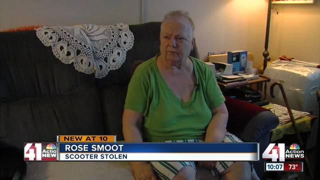Rose Smoot A 71 Year Old Woman From Kansas City With Health Issues Said Her Main Form Of Transportation Was An Electric Scooter Until It Stolen Just