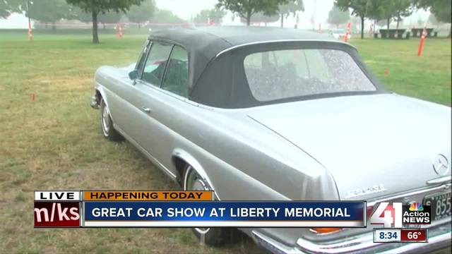 The Great Car Show Held At WWI Memorial KSHBcom Action News - Is there a car show near me today