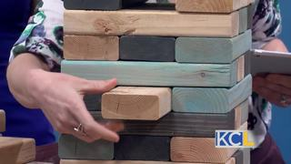Diva of DIY: Giant Jenga game