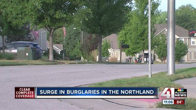 Kcpd Sees Spike In Northland Burglaries Where Homeowners Leave