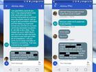 Couple receives vulgar, racist text messages