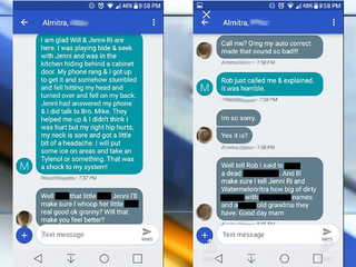 Couple receives vulgar, racist text messages