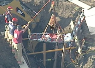 OSHA investigating trench injury in Blue Springs