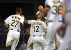 Pirates walk-off Royals in the 9th