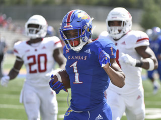 KU gets lift from RB Pooka Williams