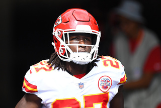 Chiefs running back is ultimate team player
