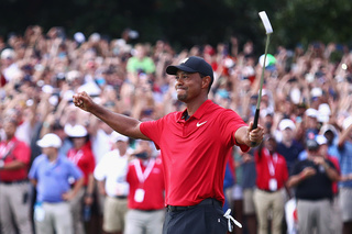 Tiger makes Epic comeback for the win