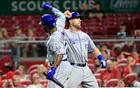 Bull Dozier; 9th inning blast propels Royals