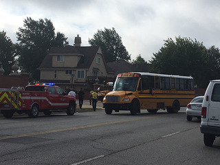 Motorcyclist killed in KCK crash with school bus