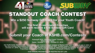 Subway's Standout Coach Contest