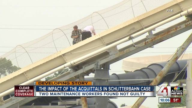 The impact of accusations in the Schlitterbahn case