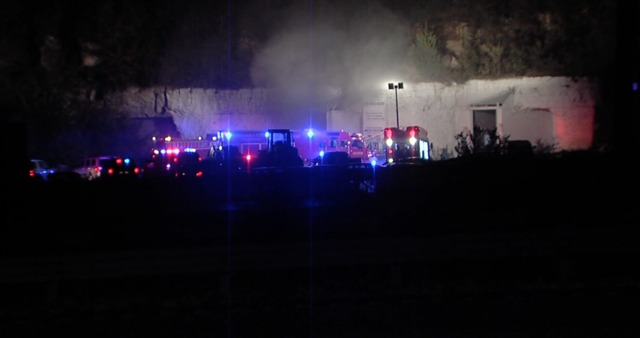 KCFD battles cave fire for hours