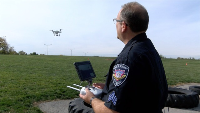 Blue Springs charity buys drone for Lee's Summit Police