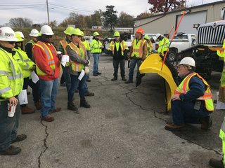 MoDOT crews prep for winter weather with drill