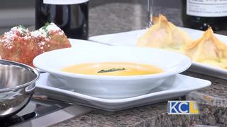 Tasty butternut squash soup recipe from JJ's