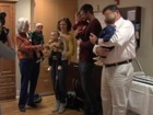 Quadruplets born in KC celebrate first birthday