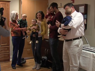 Quadruplets born in KC celebrate first birthday