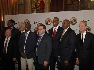 Kansas City hosts college basketball greats